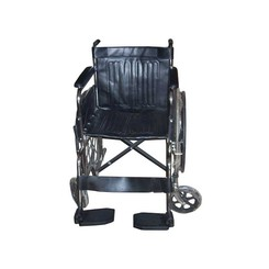 Folded Wheelchair