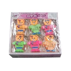 Pack Of Different Shapes Erasers