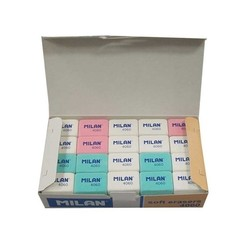 Pack Of Milan 4060 Erasers / 60 Pieces