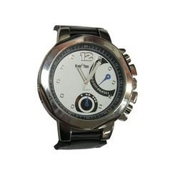 Leather Magic Time Watch For Men