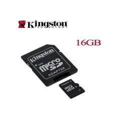 MicroSD Card 16GB / Kingston