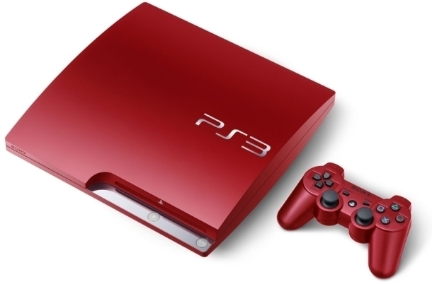 Sony PlayStation 3 320 GB Red -  Limited Edition